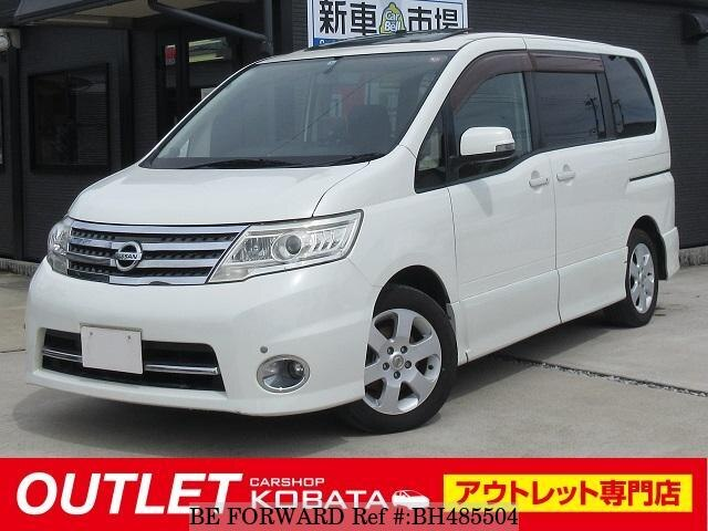 Used 2008 NISSAN SERENA BH485504 for Sale