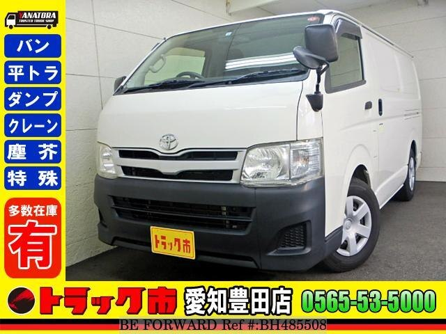 Used 2013 TOYOTA HIACE VAN BH485508 for Sale