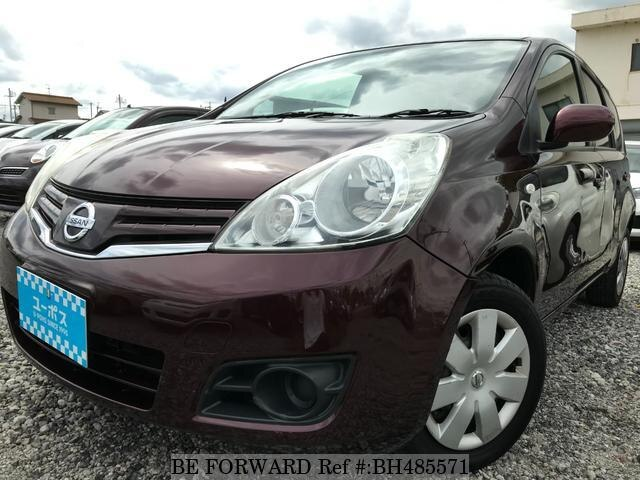 Used 2011 NISSAN NOTE BH485571 for Sale