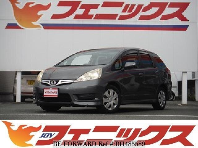 Used 2011 HONDA FIT SHUTTLE BH485589 for Sale