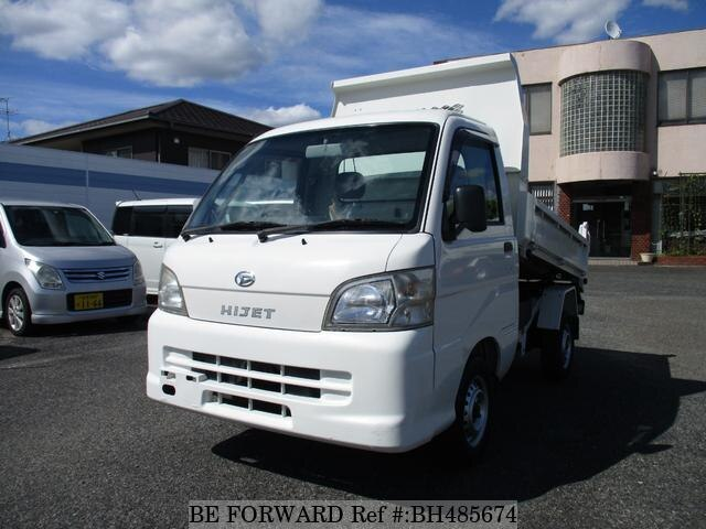 Used 2010 DAIHATSU HIJET TRUCK BH485674 for Sale