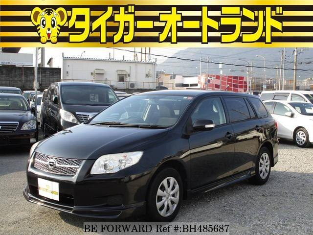 Used 2008 TOYOTA COROLLA FIELDER BH485687 for Sale