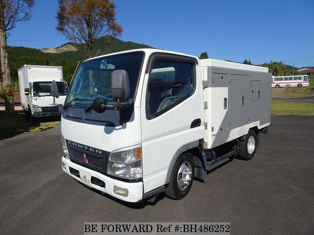 Used 2004 MITSUBISHI CANTER BH486252 for Sale