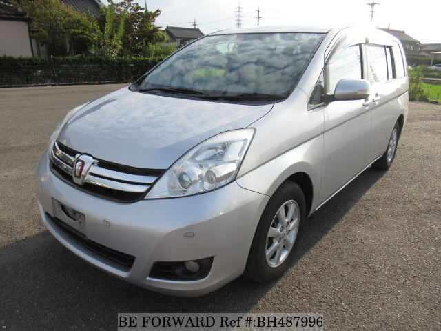 Used 2012 TOYOTA ISIS BH487996 for Sale