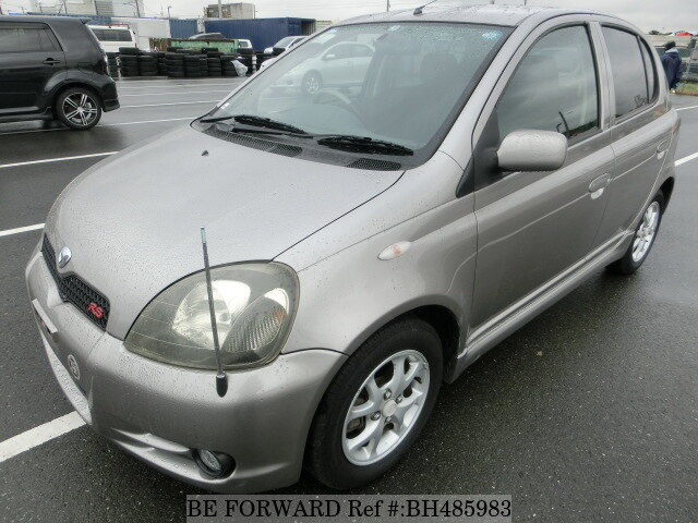 Used 2001 TOYOTA VITZ BH485983 for Sale