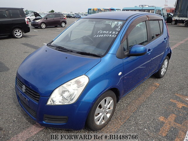 Used 2009 SUZUKI SPLASH BH488766 for Sale