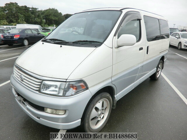 Used 1997 TOYOTA REGIUS WAGON BH488683 for Sale