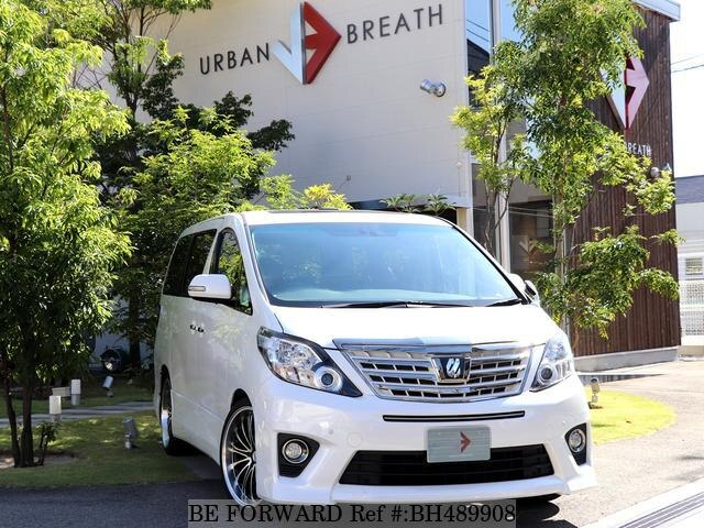 Used 2013 TOYOTA ALPHARD BH489908 for Sale