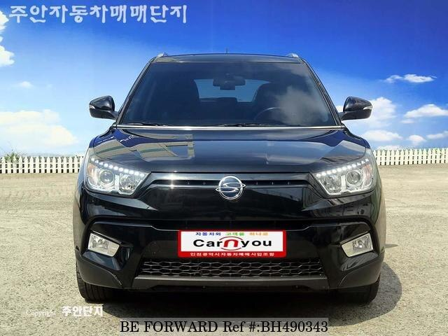 Used 2016 SSANGYONG TIVOLI BH490343 for Sale