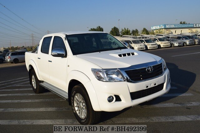 Used 2014 TOYOTA HILUX BH492399 for Sale