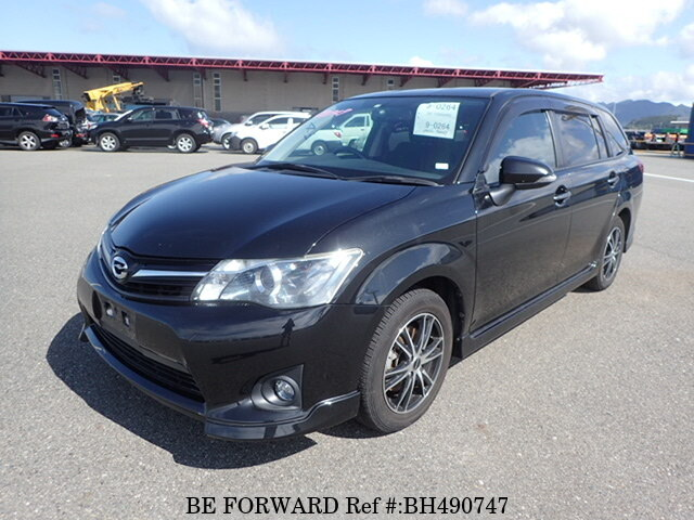 Used 2012 TOYOTA COROLLA FIELDER BH490747 for Sale