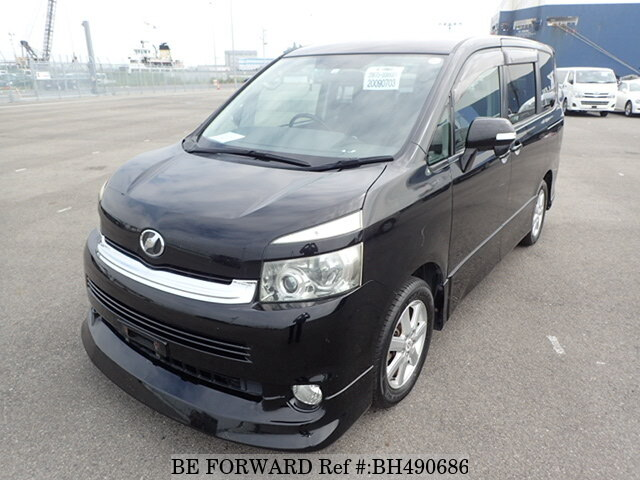 Used 2008 TOYOTA VOXY BH490686 for Sale