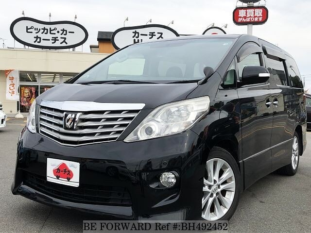 Used 2009 TOYOTA ALPHARD BH492452 for Sale