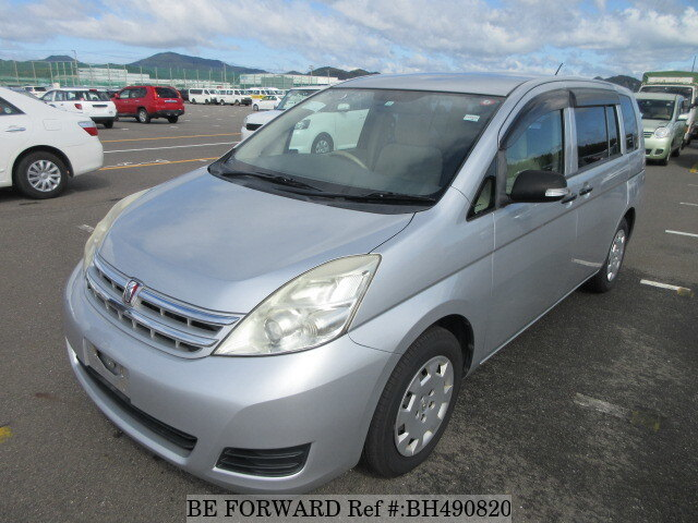 Used 2010 TOYOTA ISIS BH490820 for Sale
