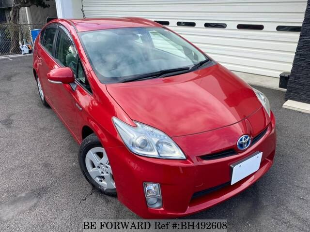 Used 2010 TOYOTA PRIUS BH492608 for Sale