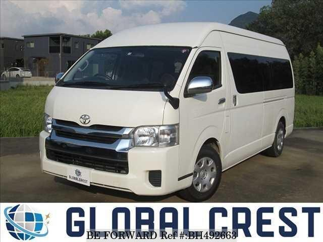 Used 2017 TOYOTA HIACE WAGON BH492663 for Sale