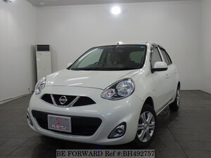 Used 2015 NISSAN MARCH BH492757 for Sale