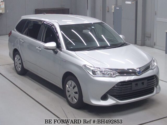 Used 2017 TOYOTA COROLLA FIELDER BH492853 for Sale