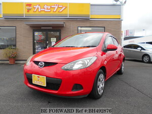 Used 2008 MAZDA DEMIO BH492876 for Sale