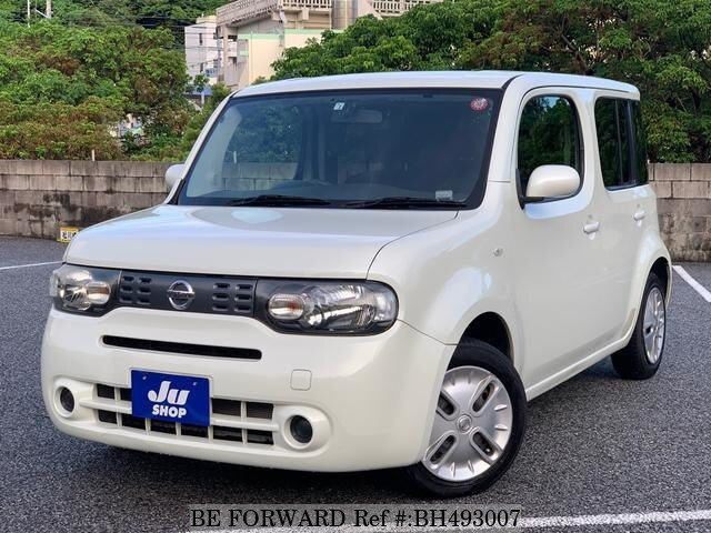 Used 2012 NISSAN CUBE BH493007 for Sale
