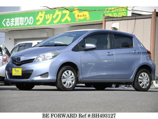 Used 2013 TOYOTA VITZ BH493127 for Sale