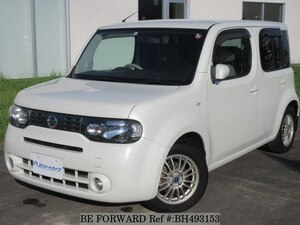 Used 2010 NISSAN CUBE BH493153 for Sale