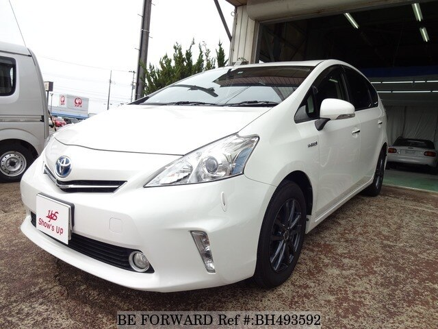 Used 2014 TOYOTA PRIUS ALPHA BH493592 for Sale