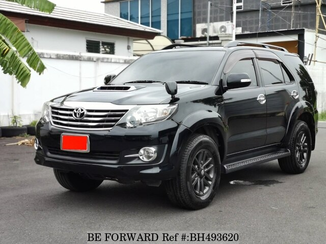 Used 2014 TOYOTA FORTUNER BH493620 for Sale
