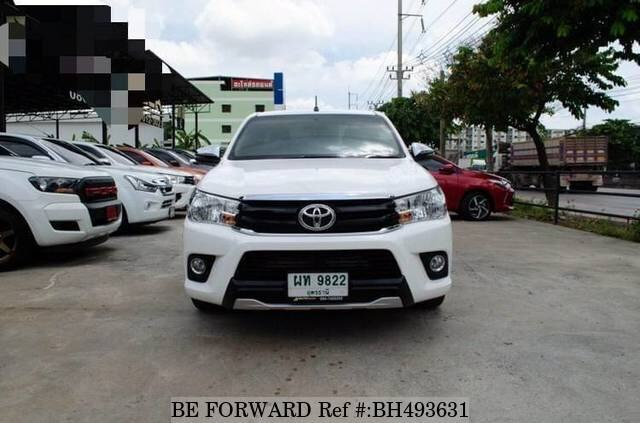 Used 2018 TOYOTA HILUX BH493631 for Sale