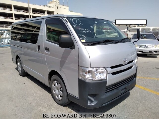 Used 2015 TOYOTA HIACE VAN BH493807 for Sale