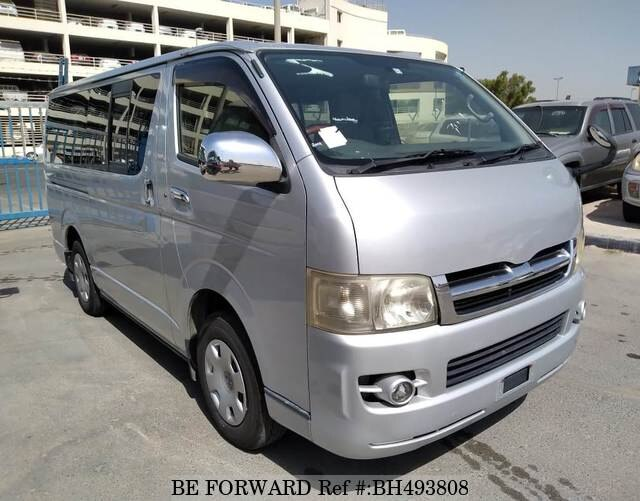 Used 2004 TOYOTA HIACE VAN BH493808 for Sale