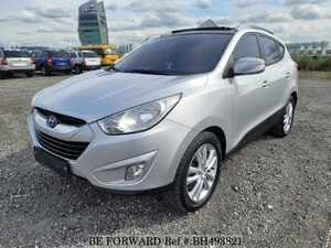Used 2010 HYUNDAI TUCSON BH493821 for Sale