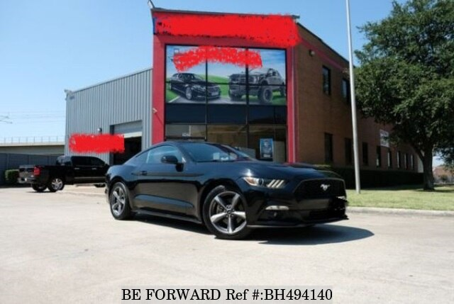 Used 2015 FORD MUSTANG BH494140 for Sale