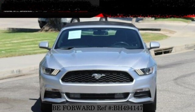 Used 2015 FORD MUSTANG BH494147 for Sale
