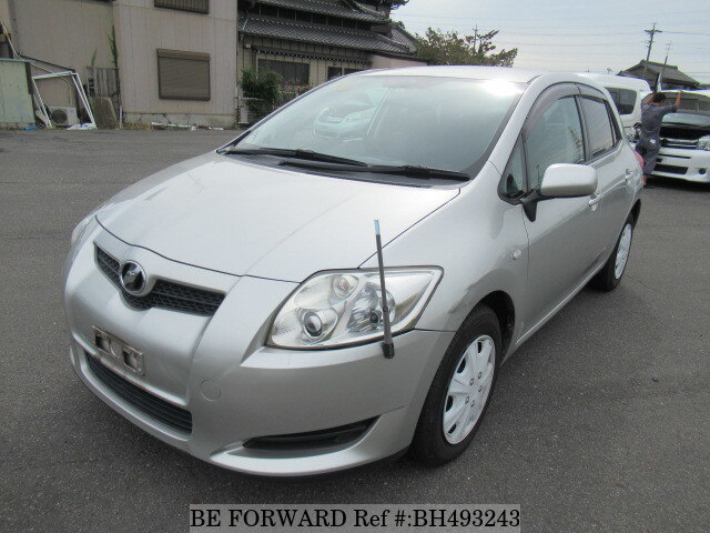 Used 2008 TOYOTA AURIS BH493243 for Sale