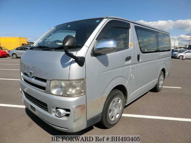 Used 2007 TOYOTA HIACE VAN BH493405 for Sale