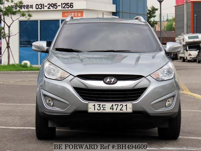 Used 2010 HYUNDAI TUCSON BH494609 for Sale
