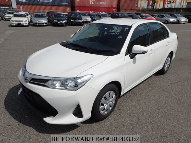 Used 2018 TOYOTA COROLLA AXIO BH493324 for Sale