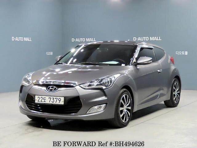 Used 2012 HYUNDAI VELOSTER BH494626 for Sale
