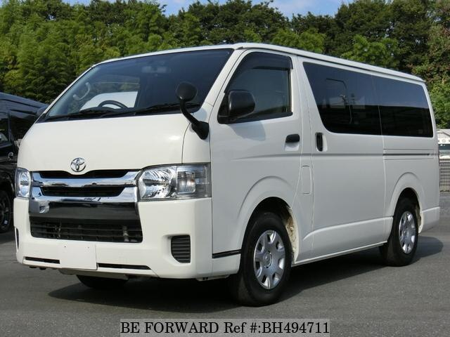 Used 2017 TOYOTA HIACE VAN BH494711 for Sale