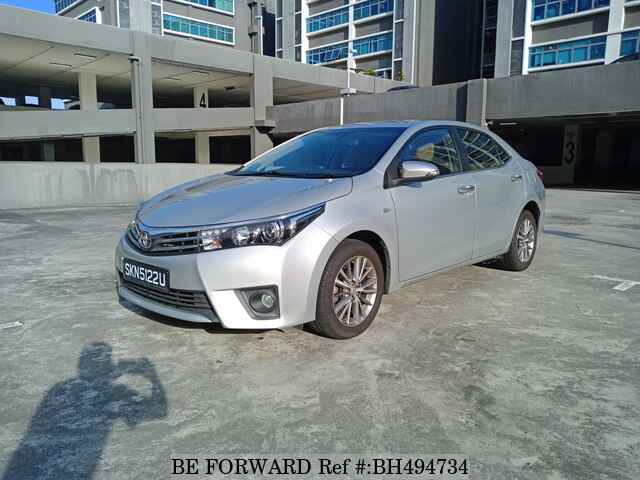 Used 2014 TOYOTA COROLLA ALTIS BH494734 for Sale