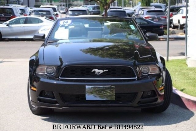 Used 2014 FORD MUSTANG BH494822 for Sale