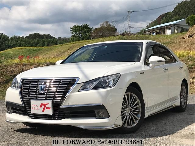 Used 2013 TOYOTA CROWN HYBRID BH494881 for Sale