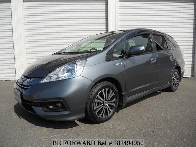 Used 2015 HONDA FIT SHUTTLE HYBRID BH494950 for Sale
