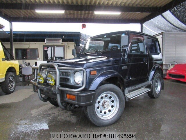 Used 1993 SUZUKI JIMNY SIERRA BH495294 for Sale