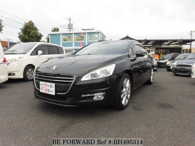 Used 2012 PEUGEOT 508 BH495314 for Sale