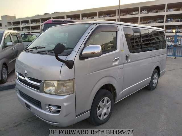 Used 2005 TOYOTA HIACE VAN BH495472 for Sale