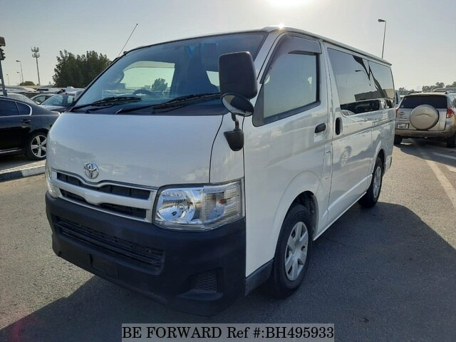 Used 2013 TOYOTA HIACE VAN BH495933 for Sale