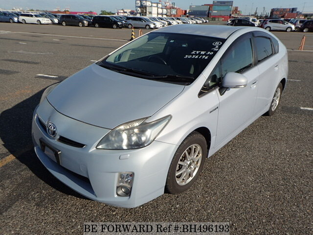 Used 2009 TOYOTA PRIUS BH496193 for Sale