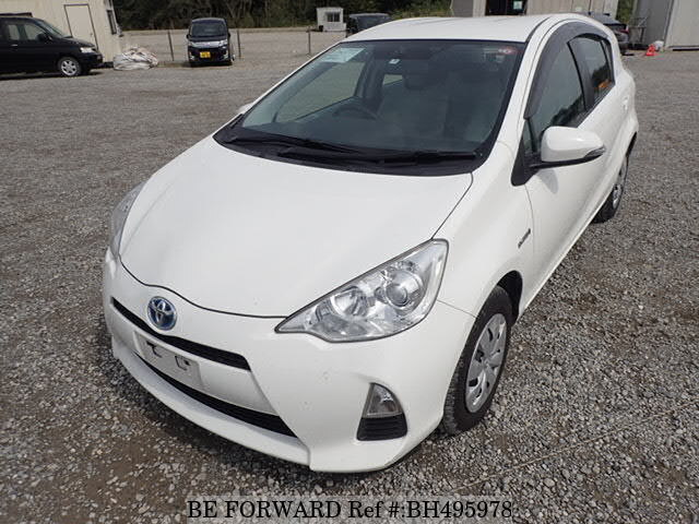Used 2013 TOYOTA AQUA BH495978 for Sale